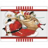 Santa Toy Bag Soap Wedges