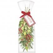 Hanging Mistletoe Towel Set
