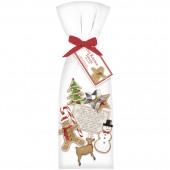 Santas Cookies Towel Set