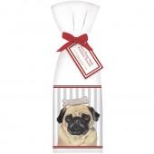 Pug Face Towel Set