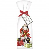 Santa With Puppies Towel Set