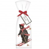 Ski Bear With Scarf Towel Set