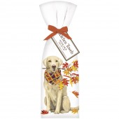 Dog Fall Branch Towel Set