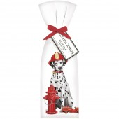 Dalmation Fireman Towel Set
