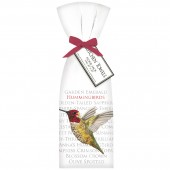Modern Hummingbird Towel Set