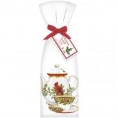 Cardinal Teapot Towel Set