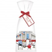 Camper Patriotic Towel Set