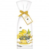 Teacup With Lemons Towel Set