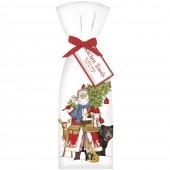 Woodland Santa Towel Set
