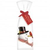 Retro Snowman Towel Set