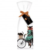 Witch Bike Towel Set