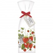 Botanical Strawberry Towel Set