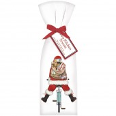 Santa Bike Towel Set