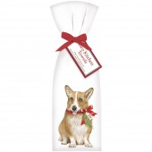 Dog Holiday Corgi Towel Set