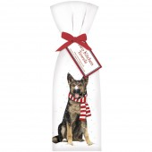 Dog Winter Shepherd Towel Set
