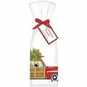 Holiday Stationwagon Towel Set
