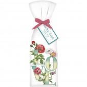 Love Flowers Towel Set