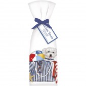 Bichon Beach Towel Set