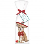 Chihuahua Sombrero Towel Set