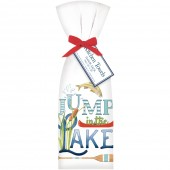 Jump In The Lake Towel Set