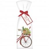Garden Bike Towel Set