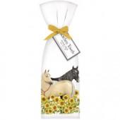Sunflower Horses Towel Set