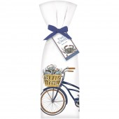 Crab Bike Towel Set