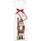 Nutcracker Skier Towel Set