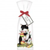 Cat Ornaments Towel Set