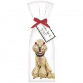 Holiday Poodle Towel Set