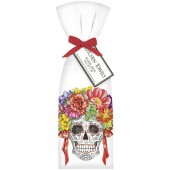 Skull Flower Wreath Towel Set