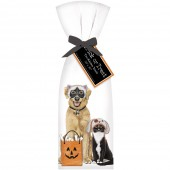 Halloween Pets Bonebag Towel Set