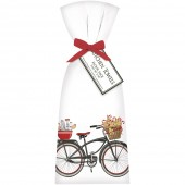 Gingerbread Bike Towel Set