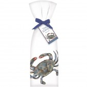 Blue Crab Towel Set