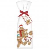 Gingerbread Family Towel Set
