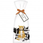 Purrfectly Wicked Cats Towel Set