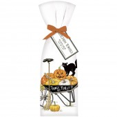Halloween Wheelbarrow Towel Set