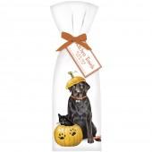 Pumpkin Carving Pets Towel Set