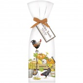 Chicken Fall Harvest Towel Set