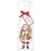 Gingerbread Santa Towel Set