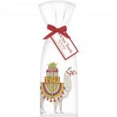 Christmas Llama Towel Set