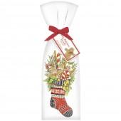Gingerbread Stocking Towel Set