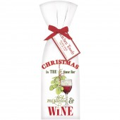 Mistletoe & Wine Towel Set