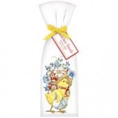 Chick Flower Bonnet Towel Set
