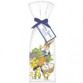 Lavender Rabbit Towel Set