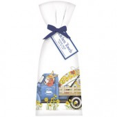 Blue Egg Truck Towel Set
