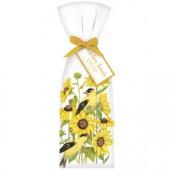 Sunflower Finch Towel Set