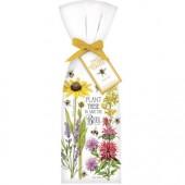 Bee Flowers Towel Set