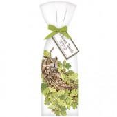 Owl Oak Leaves Towel Set