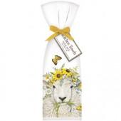 Sheep Flower Crown Towel Set